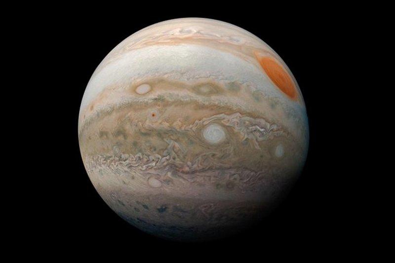 должно самая большая планета солнечной системы фото руки боки визуально
