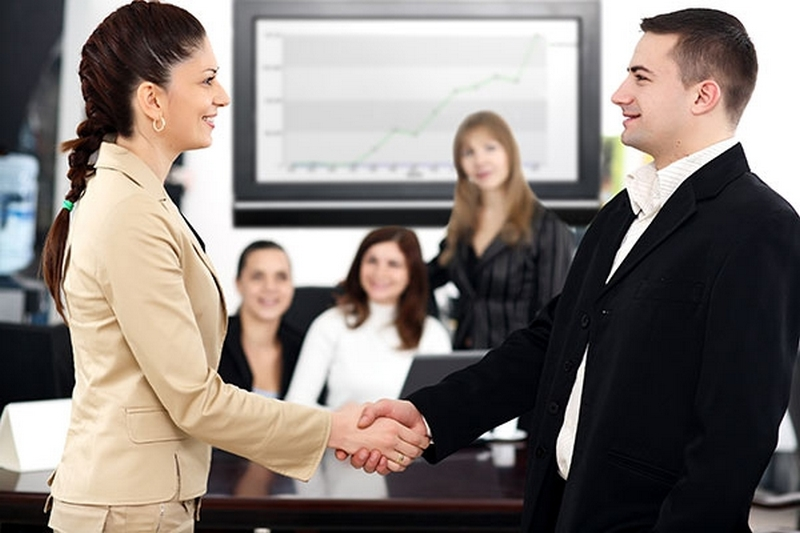 Первое знакомство с бизнес партнерами